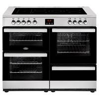 Belling Cookcentre 110E 110cm Electric Range Cooker in Stainless Steel Best Price, Cheapest Prices