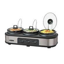 Bella Triple Slow Cooker and Warming Station Best Price, Cheapest Prices