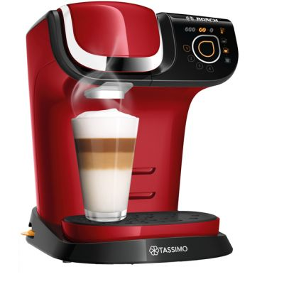 Tassimo by Bosch My Way 2 TAS6503GB Pod Coffee Machine - Red Best Price, Cheapest Prices