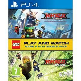LEGO Ninjago Double Pack PS4 Game & Movie Bundle Best Price, Cheapest Prices