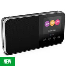 Pure Move T4 DAB Rechargeable Radio - Black
