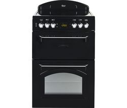LEISURE CLA60CEK 60 cm Electric Ceramic Cooker - Black Best Price, Cheapest Prices