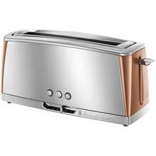 Russell Hobbs 24310 Luna 2 Slice Toaster - Copper Best Price, Cheapest Prices