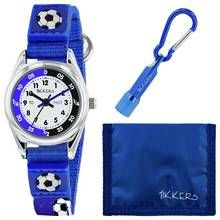 Tikkers Blue Football Watch, Wallet and Torch Set Best Price, Cheapest Prices