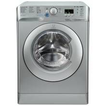 Indesit BWA81483X 8KG 1400 Spin Washing Machine - Silver Best Price, Cheapest Prices