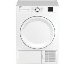 BEKO Pro DTBP10001W 10 kg Heat Pump Tumble Dryer - White Best Price, Cheapest Prices