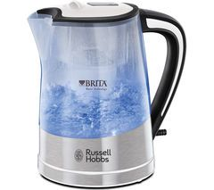 RUSSELL HOBBS Purity 22851 Jug Kettle - Transparent Best Price, Cheapest Prices