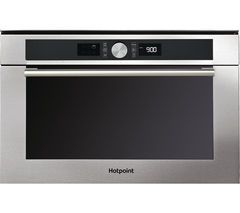 HOTPOINT Class 4 MD 454 IX H Built-In Microwave with Grill - Stainless Steel Best Price, Cheapest Prices