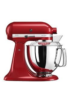 KitchenAid Artisan 4.8-Litre Tilt Head Stand Mixer - Red Best Price, Cheapest Prices