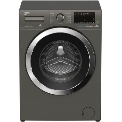 Beko WY84044G 8Kg Washing Machine with 1400 rpm - Graphite - A+++ Rated Best Price, Cheapest Prices