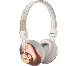 HOUSE OF MARLEY Positive Vibration 2 Wireless Bluetooth Headphones - Copper Best Price, Cheapest Prices