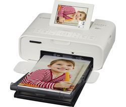 CANON SELPHY CP1300 Wireless Photo Printer - White Best Price, Cheapest Prices