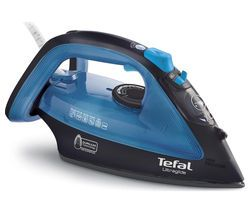 TEFAL Ultraglide FV4043 Steam Iron - Black & Blue Best Price, Cheapest Prices