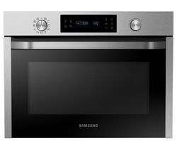 SAMSUNG NQ50J3530BS/EU Built-in Combination Microwave - Stainless Steel Best Price, Cheapest Prices