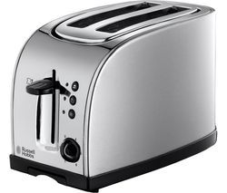 RUSSELL HOBBS Texas 18096 2-Slice Toaster - Stainless Steel Best Price, Cheapest Prices