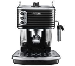 DELONGHI Scultura ECZ351BK Coffee Machine - Black Best Price, Cheapest Prices