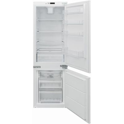 Baumatic BRCIF3180E Integrated 70/30 Frost Free Fridge Freezer with Sliding Door Fixing Kit - White - A++ Rated Best Price, Cheapest Prices