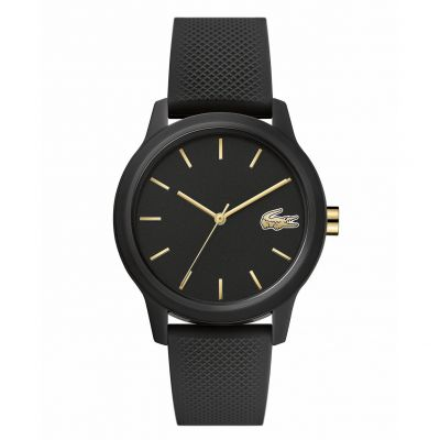 Lacoste Ladies Black Silicone Strap Watch Best Price, Cheapest Prices
