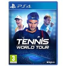 Tennis World Tour PS4 Game Best Price, Cheapest Prices