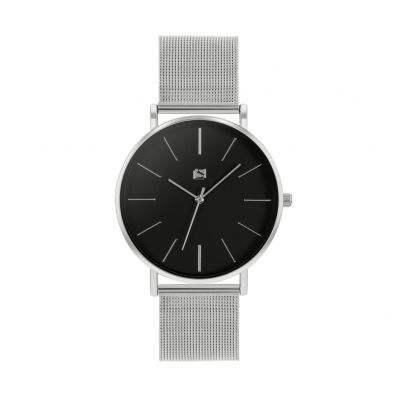 Spirit Men's Silver Coloured Mesh Strap Watch Best Price, Cheapest Prices