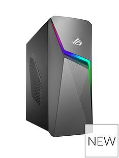 Asus ROG GL10CS-UK063T Intel Core i5, 16GB RAM, 1TB Hard Drive & 256GB SSD, RTX 2060 6GB Graphics, Gaming Desktop PC - Black Best Price, Cheapest Prices
