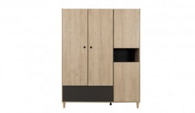 Denver 4 Door Wardrobe with Drawer
