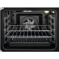 Zanussi ZCV66050WA 60cm Double Oven Electric Cooker With Ceramic Hob - White Best Price, Cheapest Prices
