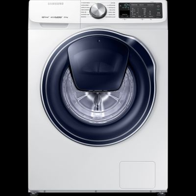 Samsung QuickDrive™ WW80M645OPM Wifi Connected 8Kg Washing Machine with 1400 rpm - White - A+++ Rated Best Price, Cheapest Prices