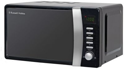Russell Hobbs 700W Standard Microwave RHMD712 - Black Best Price, Cheapest Prices