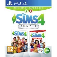 The Sims 4 with Cats & Dogs Bundle PS4 Game Best Price, Cheapest Prices