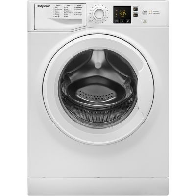 Hotpoint NSWM743UWUK 7Kg Washing Machine with 1400 rpm - White - A+++ Rated Best Price, Cheapest Prices