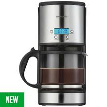 Cookworks Coffee Maker with Timer - Stainless Steel