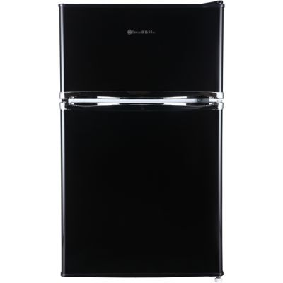 Russell Hobbs RHUCFF50B 70/30 Fridge Freezer - Black - A+ Rated Best Price, Cheapest Prices