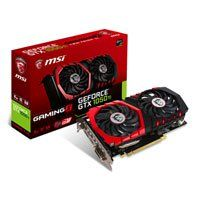 MSI GeForce GTX 1050 Ti GAMING X 4GB GDDR5 Graphics Card, 768 Core, 1354MHz GPU, 1468MHz Boost Best Price, Cheapest Prices