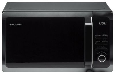 Sharp 800W Standard Microwave R274KM - Black Best Price, Cheapest Prices