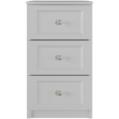One-Call Bexley 3 Drawer Bedside Chest