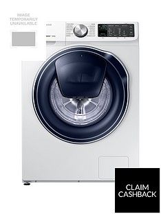 Samsung WW80M645OPM/EU 8kg Load, 1400 Spin QuickDrive™ Washing Machine with AddWash™ - White Best Price, Cheapest Prices