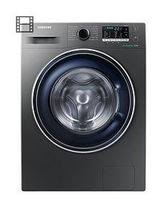 Samsung WW70J5355FX/EU 7kg Load, 1200 Spin Washing Machine with ecobubble™ Technology - Graphite Best Price, Cheapest Prices