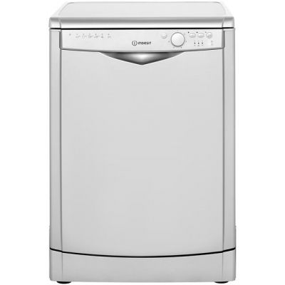 Indesit My Time DFG26B1S Standard Dishwasher - Silver - A+ Rated Best Price, Cheapest Prices