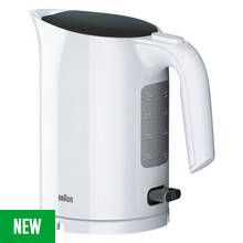Braun Series 3 Kettle - White Best Price, Cheapest Prices