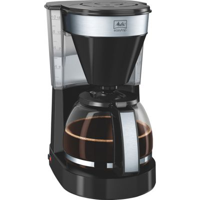 Melitta EasyTop II Black 1023-04 6762889 Filter Coffee Machine - Black Best Price, Cheapest Prices
