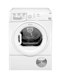Hotpoint Aquarius TCFS835BGP 8kg Sensor Condenser Tumble Dryer - White Best Price, Cheapest Prices