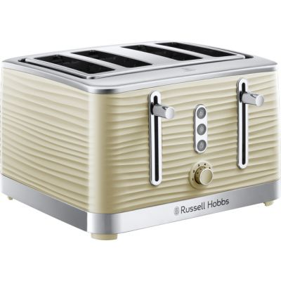 Russell Hobbs Inspire 24384 4 Slice Toaster - Cream Best Price, Cheapest Prices
