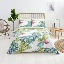 Sainsbury's Home Palm House Butterfly Bedding Set - Single