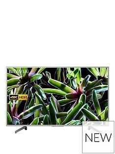 Sony BRAVIA KD55XG70, 55 inch, 4K Ultra HD, HDR, Smart TV - Silver Best Price, Cheapest Prices