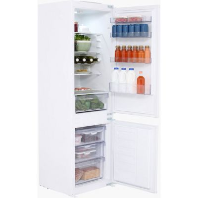 Beko BCFD173 Integrated 70/30 Frost Free Fridge Freezer with Sliding Door Fixing Kit - White - A+ Rated Best Price, Cheapest Prices