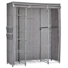 Argos Home Triple Heavy Duty Covered Rail - Grey and White