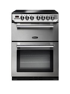 Rangemaster  PROP60ECSS Professional 60cm Wide Electric Cooker with Ceramic Hob - Stainless Steel Best Price, Cheapest Prices