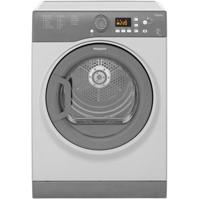 Hotpoint FTVFG65BGG 6Kg Vented Tumble Dryer - Graphite - B Rated Best Price, Cheapest Prices