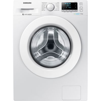 Samsung ecobubble™ WW90J5456MW 9Kg Washing Machine with 1400 rpm - White - A+++ Rated Best Price, Cheapest Prices
